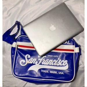 Retro SF laptop bag U.S.A.